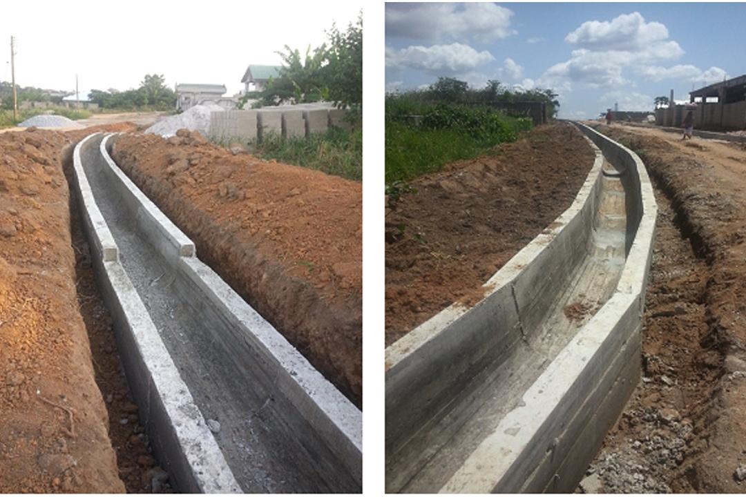 CONSTRUCTION OF U – DRAINS AT BUOBAI