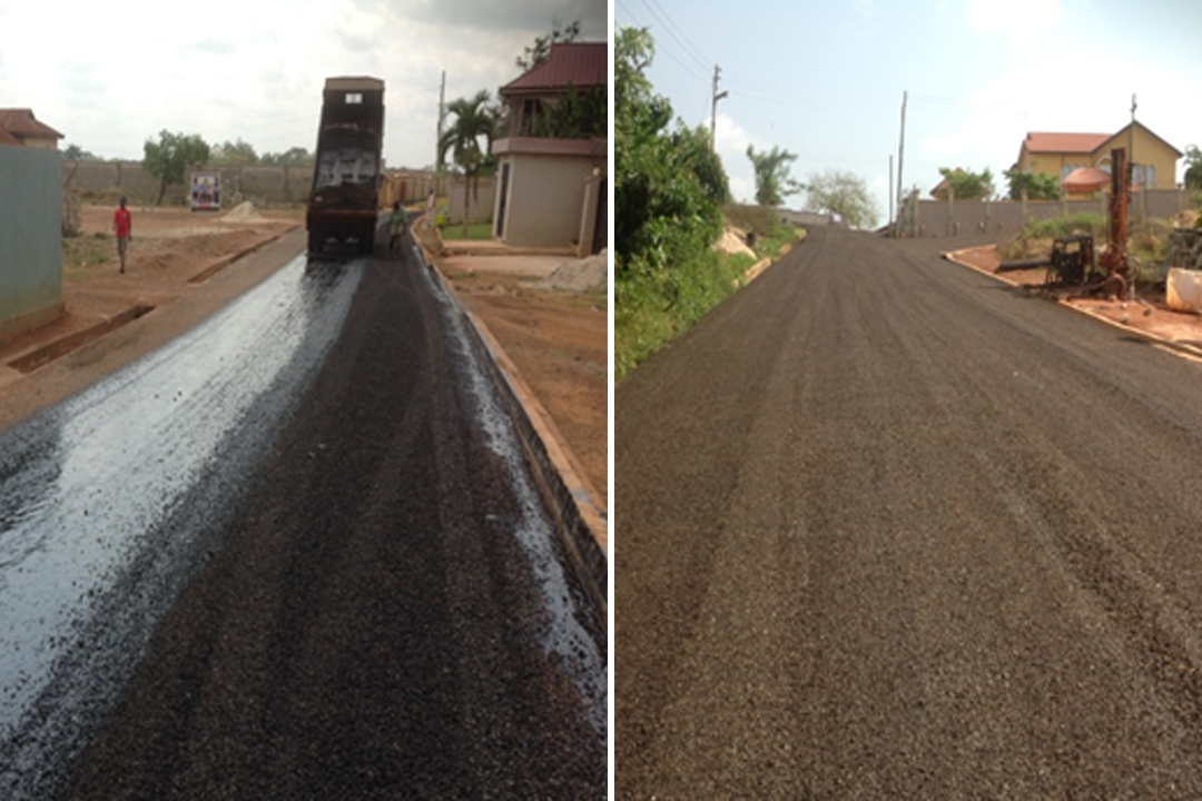 RE –FACELIFT OF BEKWAI TOWN ROADS